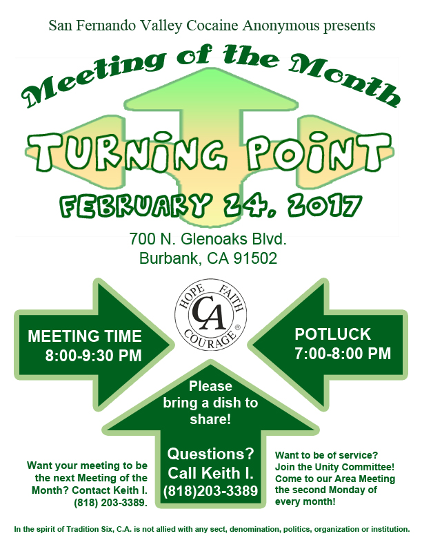 Meeting of The Month - Turning Point