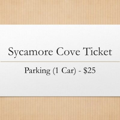 Sycamore Cove Tickets - Parking